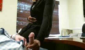 My sexy amateur girlfriend playing with my hard cock