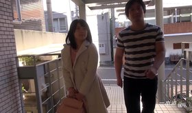 Barely legal Japanese girl is very shy with a stranger